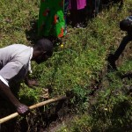 The Water Project: Emarembwa Community -  Starting Construction Work