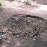 The Water Project: Ponka Village -  Rubbish Pit