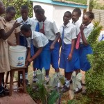 The Water Project: Matende Girls High School -  Improvised Hand Washing