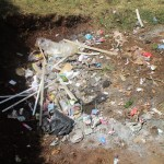 The Water Project : 16-kenya4653-school-dumpsite
