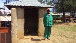 The Water Project : 16-kenya4657-school-watchman