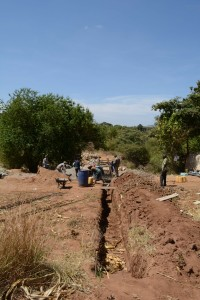 The Water Project : 16-kenya4756-sand-dam-construction
