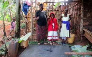 The Water Project : 17-kenya4592-sanitation-platform