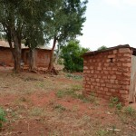 The Water Project: Katitu Community A -  Latrine