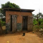 The Water Project: DEC Primary School -  Sierraleone Teacher Quarters Toilet