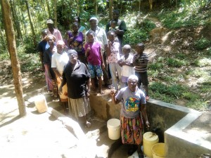 The Water Project : 19-kenya4593-protected-spring