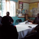 The Water Project: Bukhulunya Primary School -  Administration Meeting