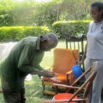 The Water Project: Mundoli Village, Isaac Jumba Spring -