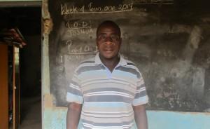 The Water Project:  School Principal Joseph Onyango