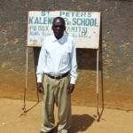 The Water Project : 2-kenya4657-deputy-headteacher