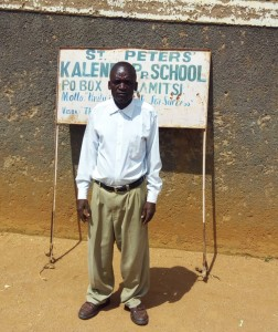 The Water Project : 2-kenya4657-deputy-headteacher