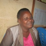 The Water Project: Essaba Primary School -  Mrs Dianah Mbeha