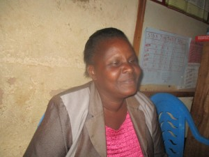 The Water Project:  Mrs Dianah Mbeha