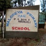 The Water Project : 2-kenya4659-school-entrance