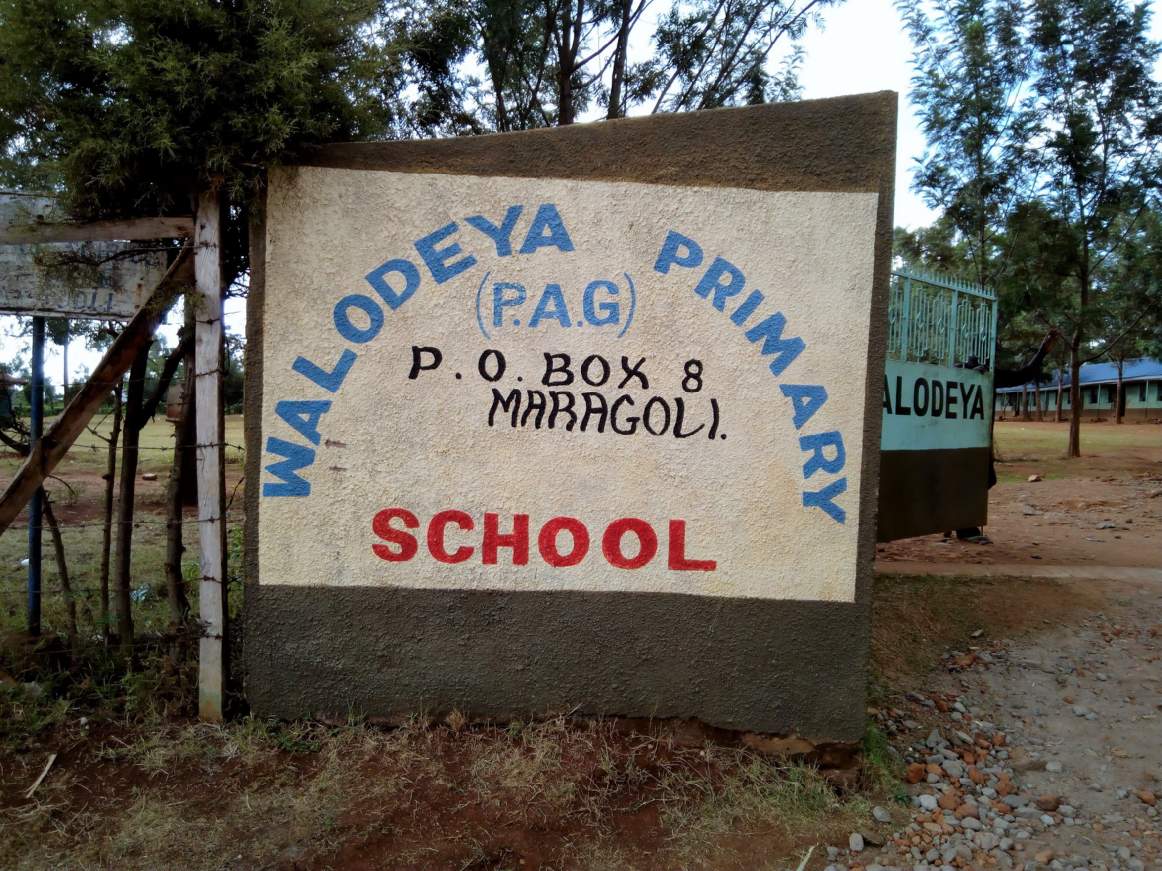 The Water Project : 2-kenya4659-school-entrance