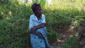 The Water Project:  Mrs Nyangweso