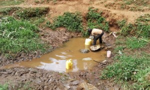 The Water Project : 2-kenya4709-fetching-water