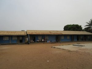The Water Project:  Front Of School