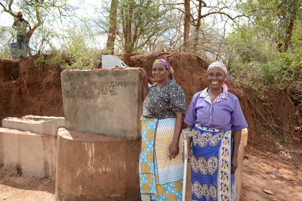 Photo of Kwa Mutunga New Well Project