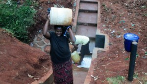 The Water Project : 20-kenya4592-protected-spring