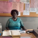 The Water Project: Matende Girls High School -  School Principal Elizabeth Musambai