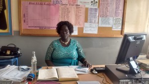 The Water Project:  School Principal Elizabeth Musambai