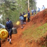 The Water Project: Digula Secondary School -  Off To Fetch Water