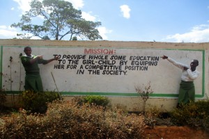 The Water Project : 3-kenya4653-school-gate