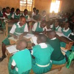 The Water Project: Essaba Primary School -  Students In Class