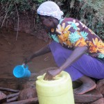 The Water Project : 3-kenya4710-fetching-water