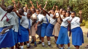 The Water Project : 4-kenya4650-students-singing-their-school-anthem