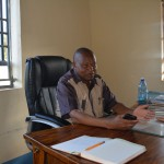 The Water Project: AIC Mutulani Secondary School -  Principal Peter Maliti