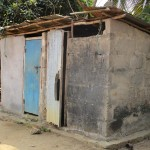 The Water Project: Tintafor, Officer's Quarters Community -  Latrine