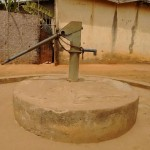 The Water Project: Tintafor, Police Barracks C-Line Community -  Dry Well