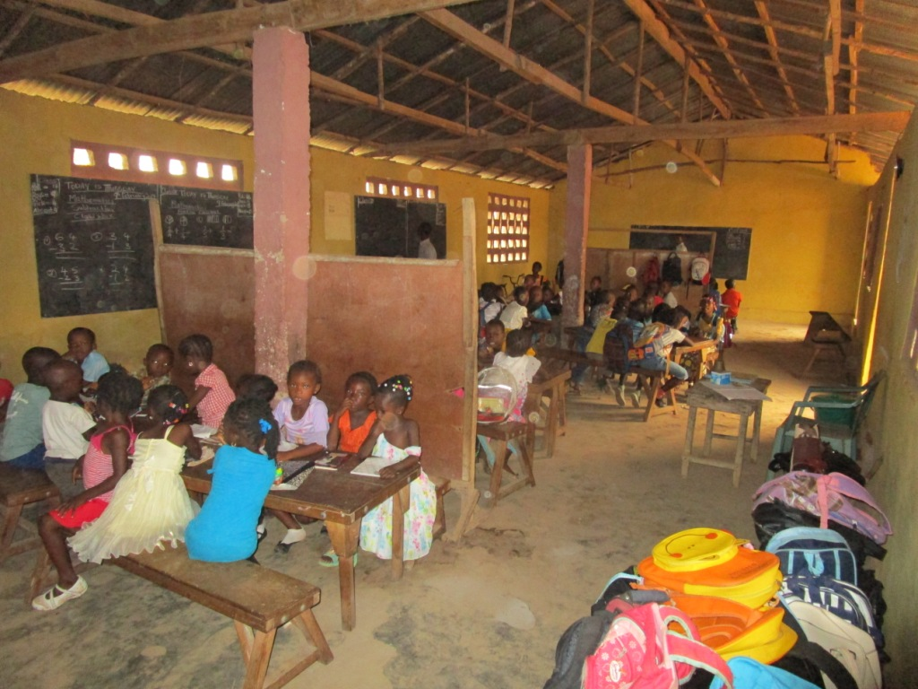 The Water Project : 4-sierraleone5109-students-in-class