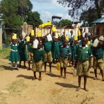 The Water Project: Kalenda Primary School -  Returning With Water
