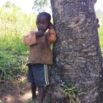 The Water Project: Emarembwa Community -  Another Child Waits For His Siblings