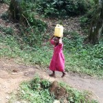 The Water Project : 5-kenya4709-carrying-water-on-head
