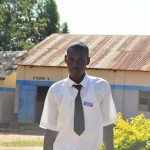 The Water Project: AIC Mutulani Secondary School -  Student Felix Syula