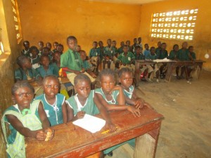 The Water Project:  Sierraleone Inside Classroom