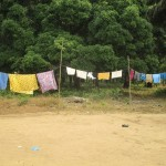 The Water Project: Ponka Village -  Clothesline