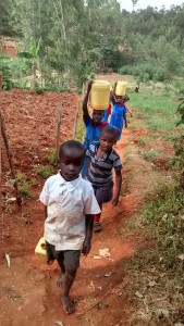 The Water Project : 6-kenya4649-fetching-water