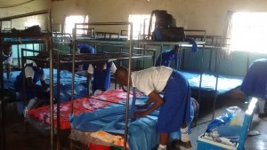 The Water Project:  Form One Students Unpacking