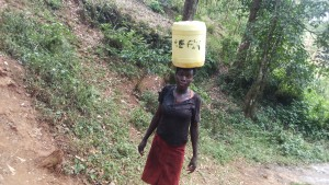 The Water Project:  Balancing On Head