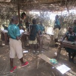 The Water Project: DEC Primary School -  Sierraleone Inside Classroom