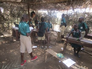 The Water Project:  Sierraleone Inside Classroom