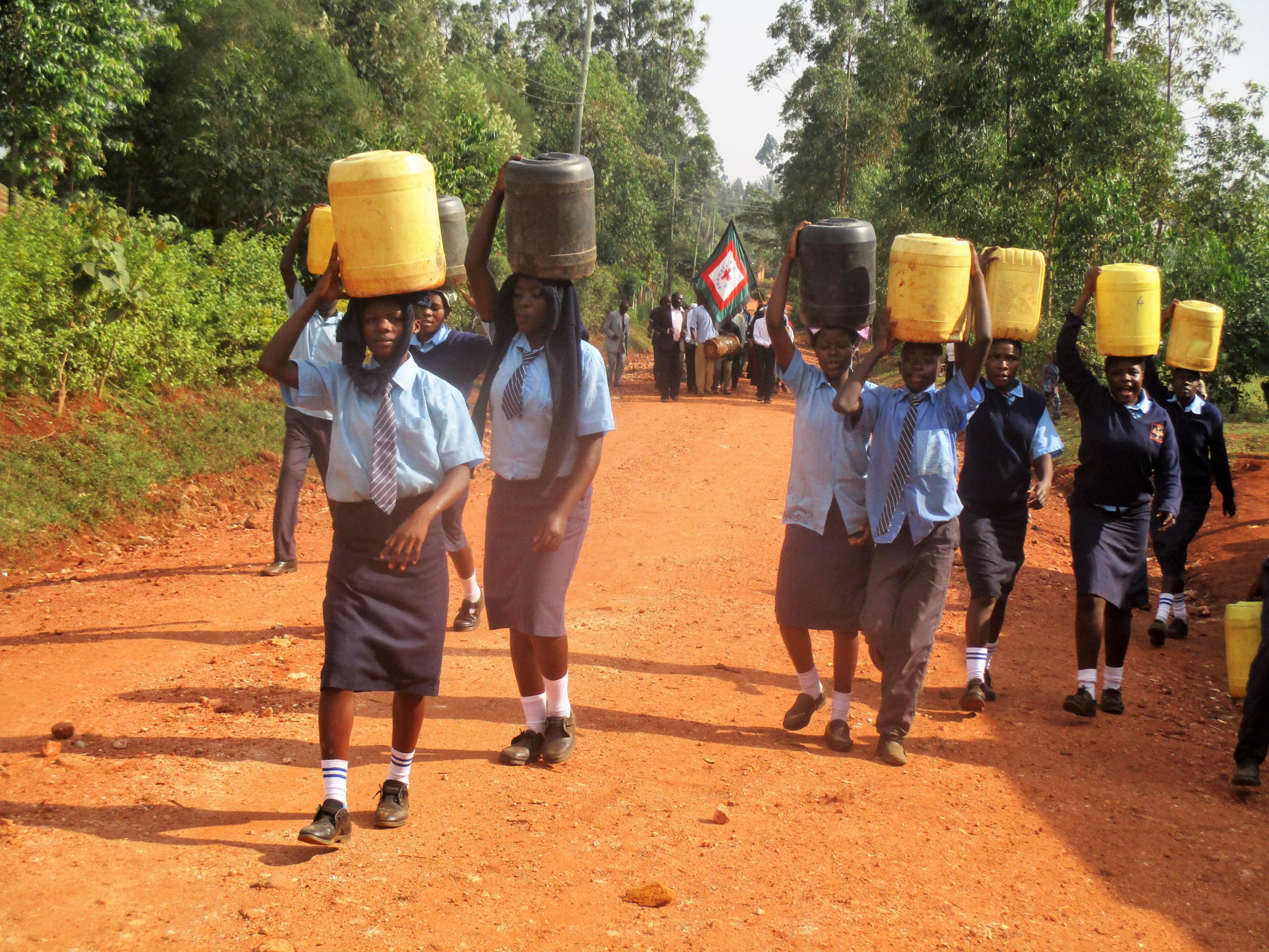 The Water Project : 7-kenya4651-back-to-school