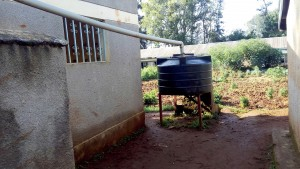 The Water Project:  Small Water Tank