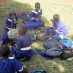The Water Project: Ebusiloli Primary School -  Relaxing During Break
