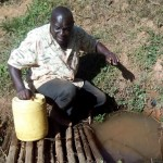 The Water Project: Bumavi Community, Shoso Mwoga Spring -  Mr Ambasi